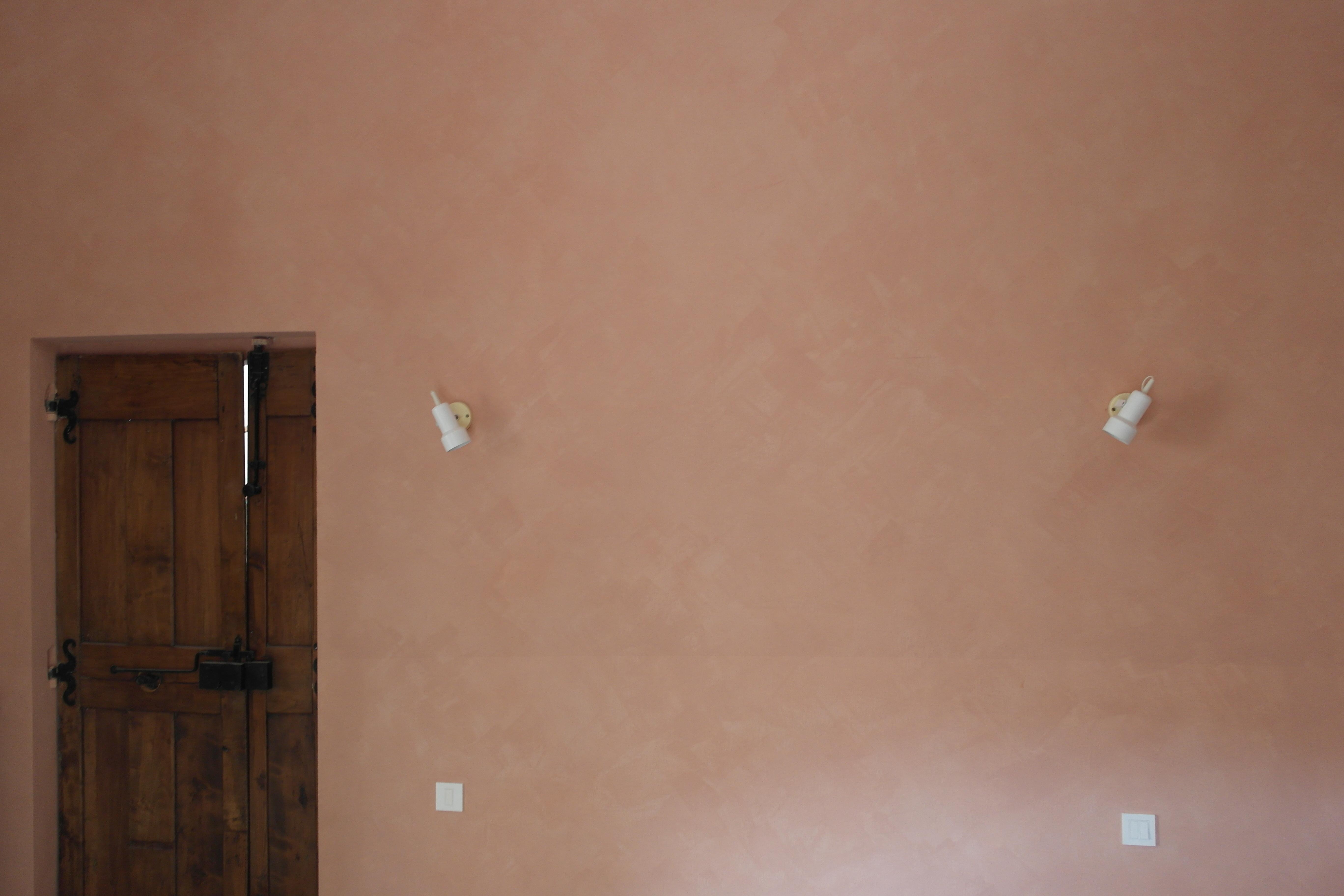 Peinture à La Chaux En Intérieur (badigeon + Eau Forte) U2013 Montagnac 34530 U2013  SARL Artisans Du Bâti Ancien